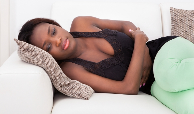 menstruación escasa y con coagulos